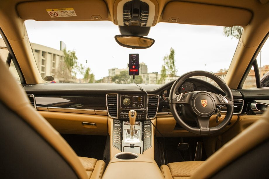 Huawei Mate 10 Pro autonomous car