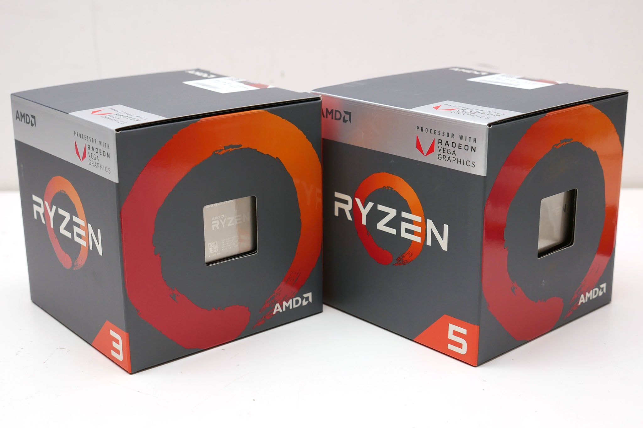 Amd Ryzen 5 2400g And 2200g Review Trusted Reviews With Radeon Rx Vega 11 Graphics They Combine Amds Cpu Technology Its But Also Bring Some Improvements Over The First Generation Of Cpus