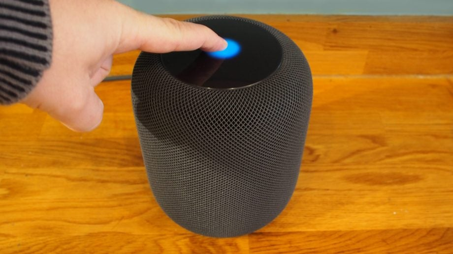 HomePod touch controls