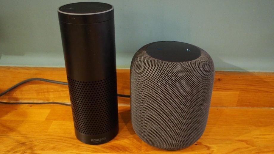 HomePod and Amazon Echo