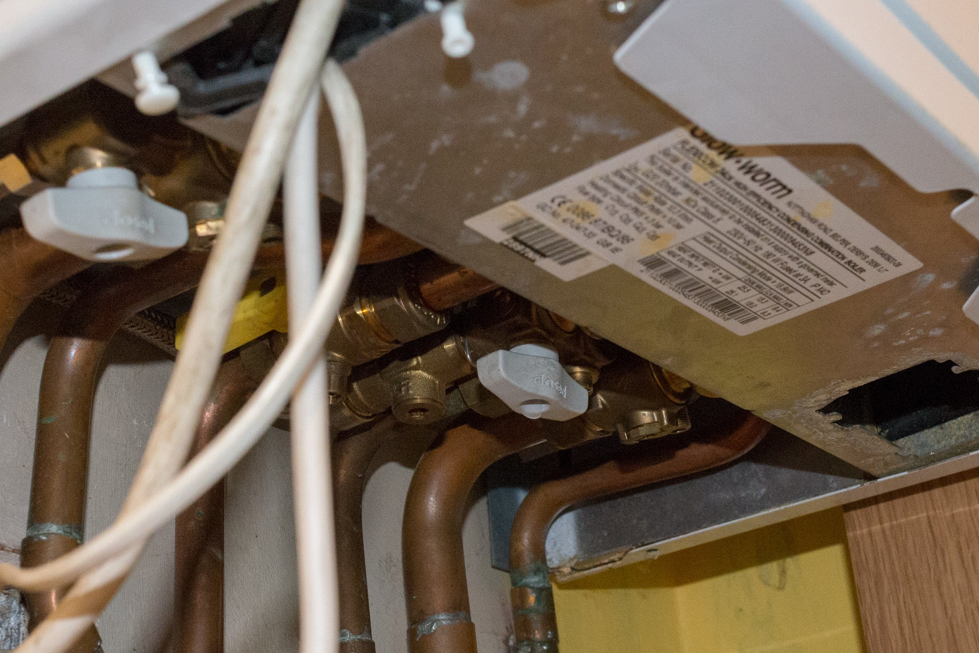 Boiler not working? How to fix a frozen boiler condensate pipe