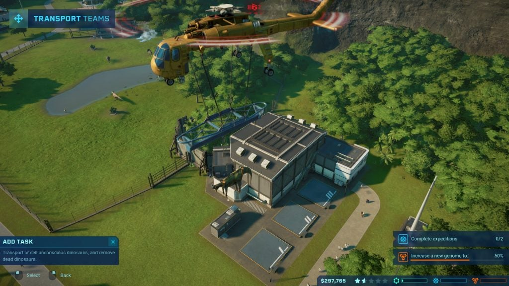 Jurassic World Evolution Preview | Trusted Reviews