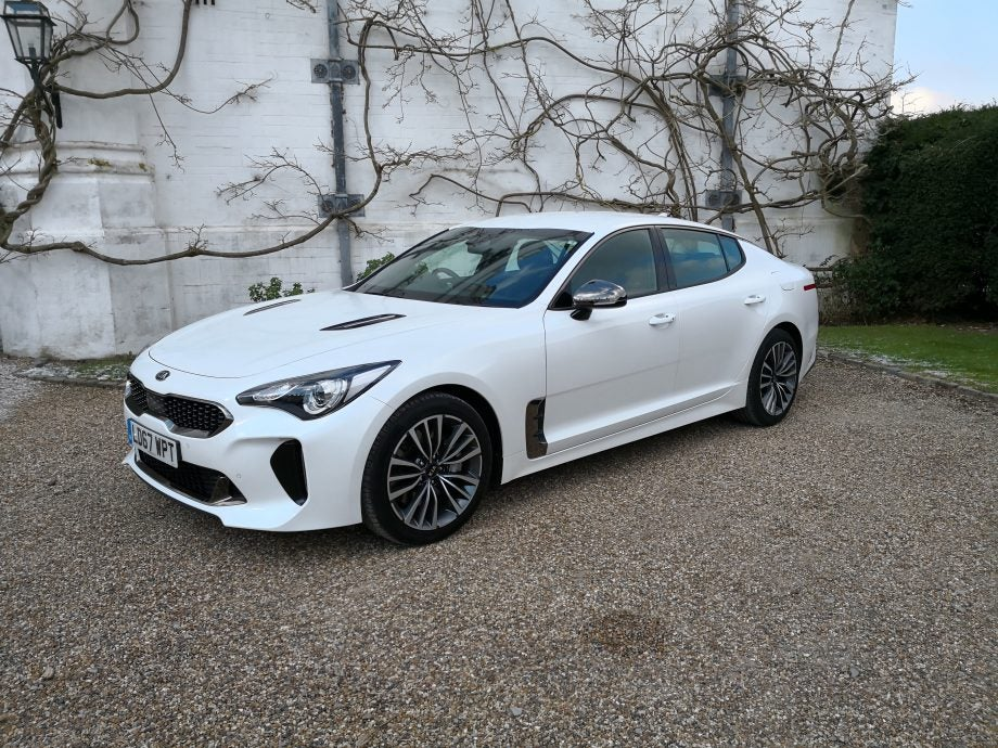 kia stinger gt test driving kia 39 s bmw beating muscle saloon trusted reviews. Black Bedroom Furniture Sets. Home Design Ideas