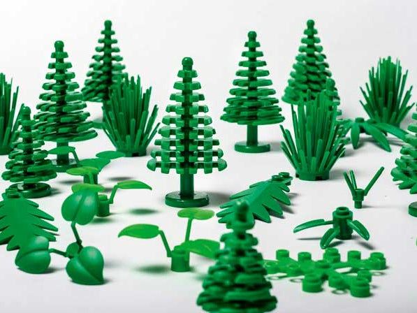 New LEGO pieces made from 'sustainable' plastic to go on