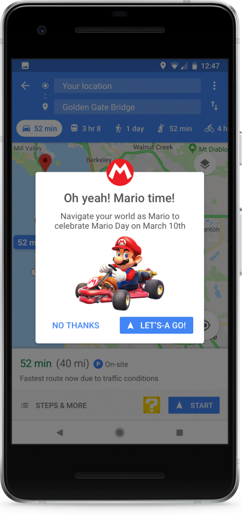 You can now turn Google Maps into Mario Kart — here's how
