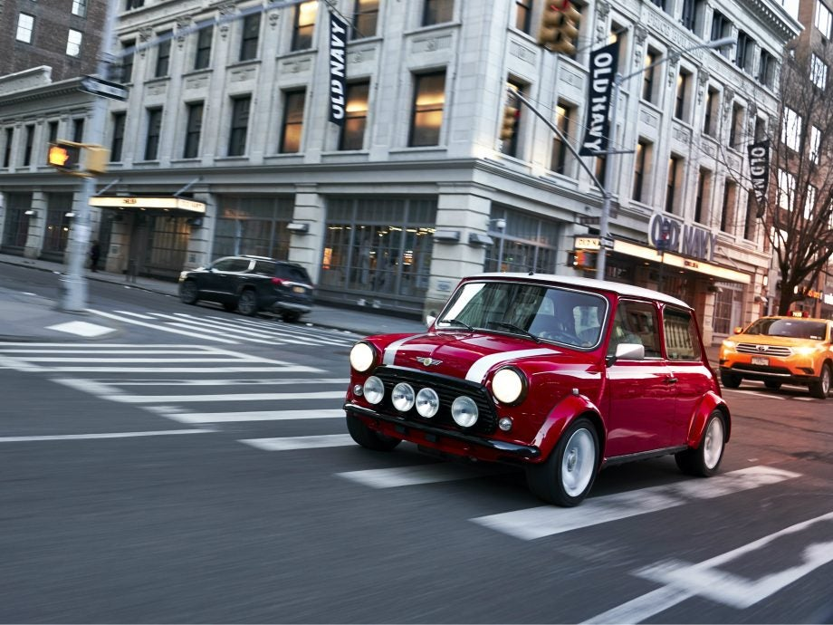 Mini Gears Up For First Electric Car With Oneofakind Classic Upgrade - Classic mini car