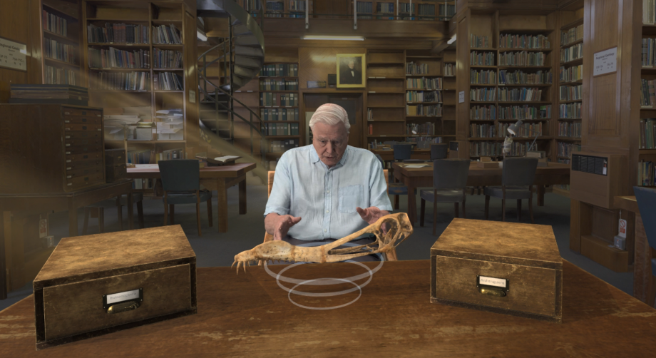 A Natural History Museum VR tour with Sir David Attenborough is just epic