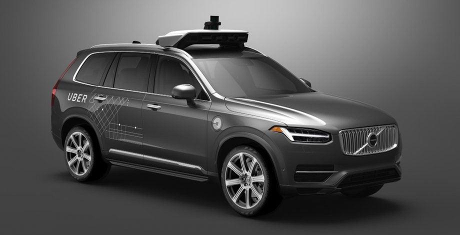 Uber Volvo
