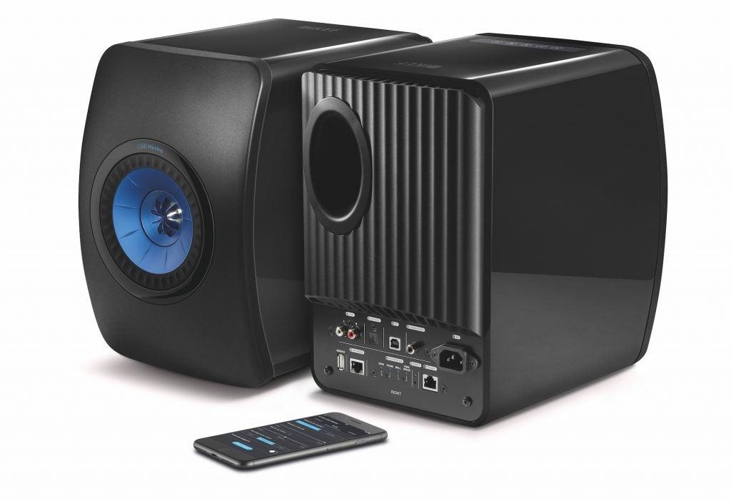 Kết quả hình ảnh cho Kef LS50 Wireless