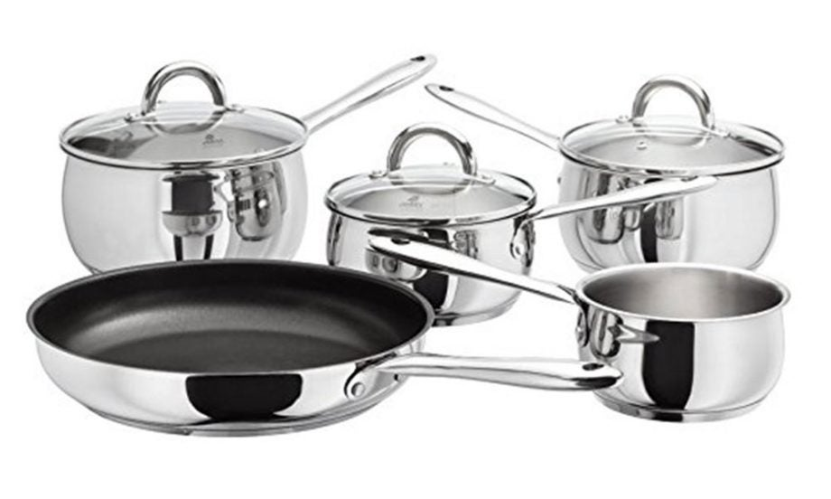 Best Saucepans: Judge Classic Five Piece Set