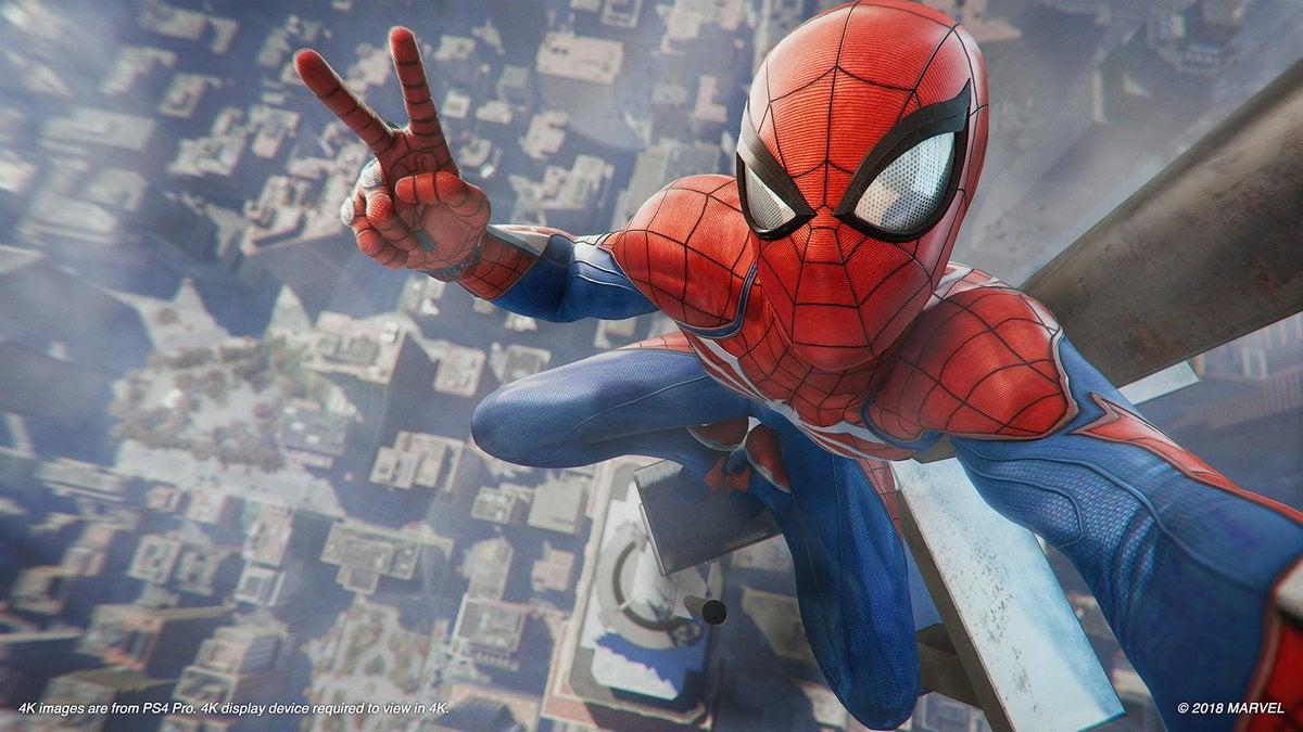spiderman ps4 ile ilgili görsel sonucu