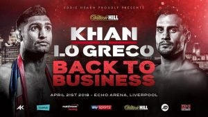 Khan vs Lo Greco live stream