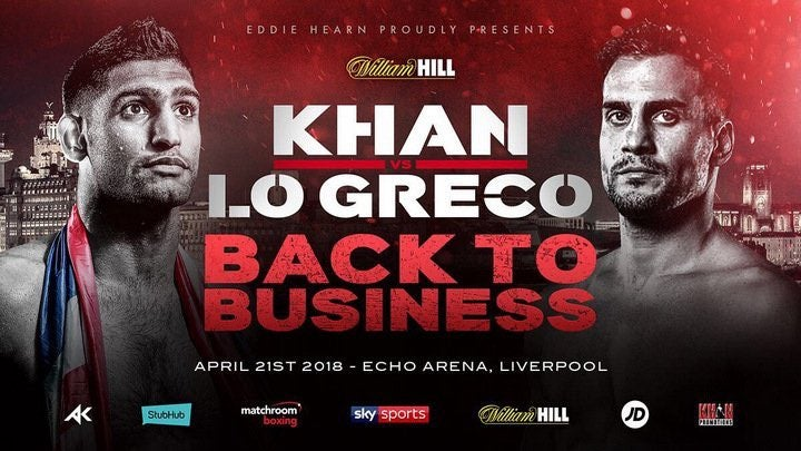 Khan vs Lo Greco live stream