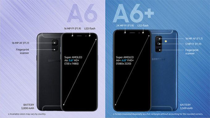 Samsung Galaxy A6 and A6 Plus (2018): Release date, specs