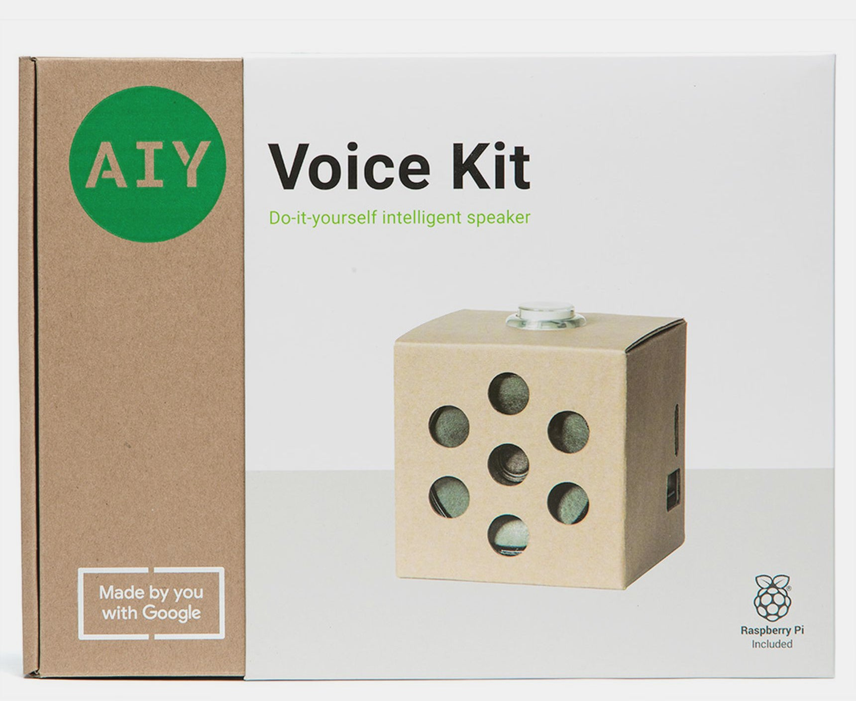 Googles awesome new aiy speaker kit now includes a raspberry pi both kits include everything else you need to complete the project while google is also introducing a dedicated android app to make things even easier solutioingenieria Gallery