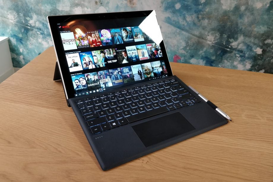 6bfeb4431340 HP Envy x2 (2017) review: Great battery, poor performance