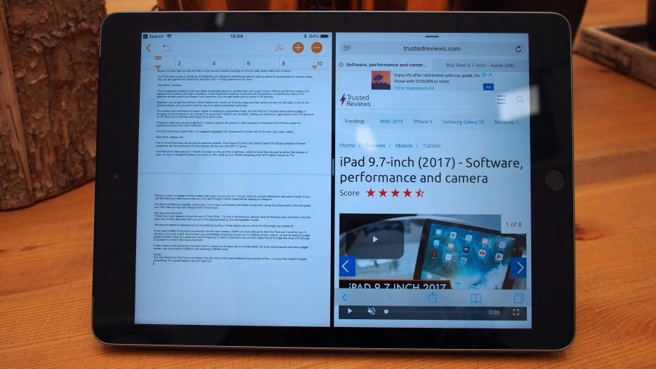 iPad 2018 9 7-inch Review | Trusted Reviews