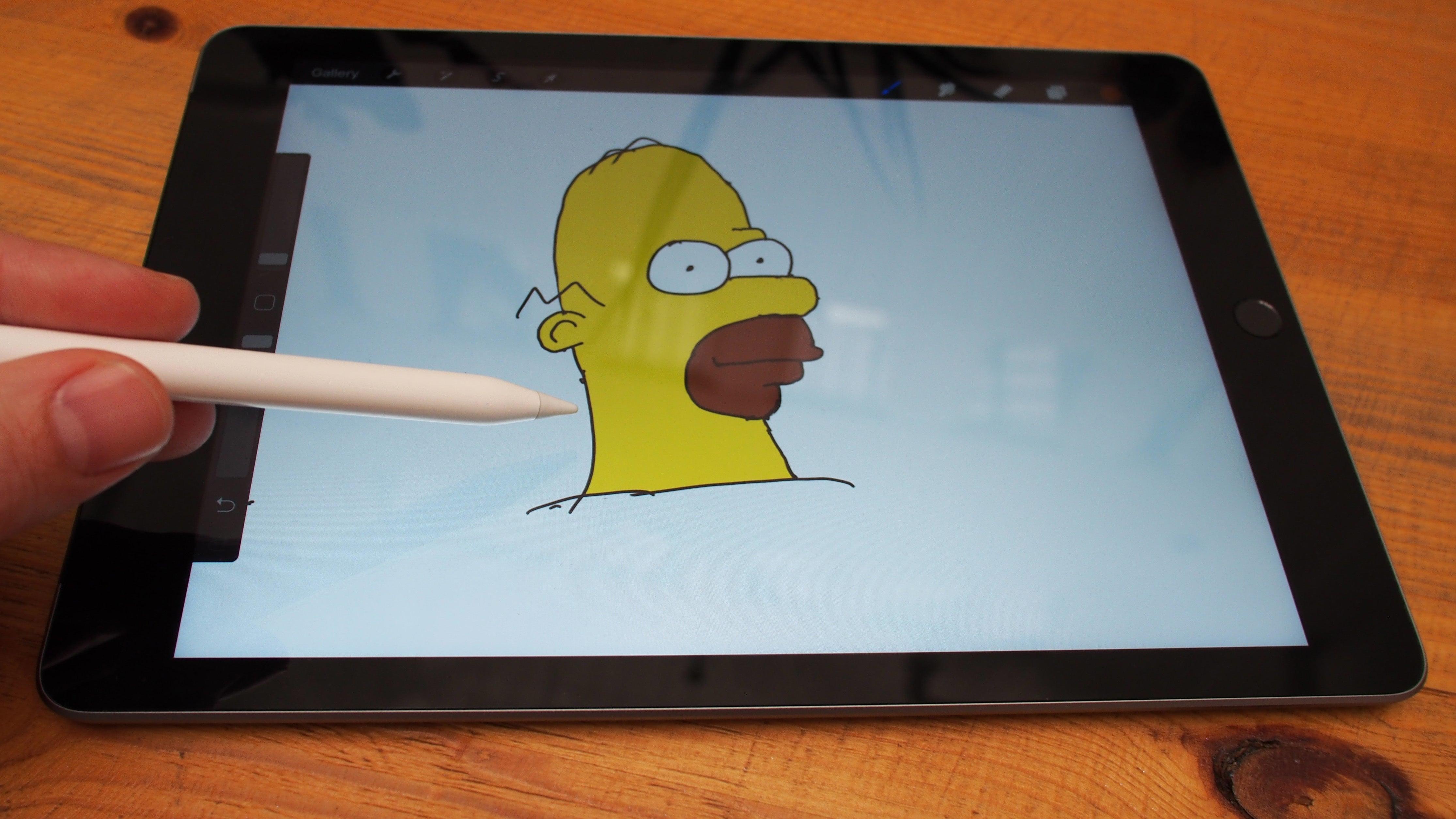 9.7-inch iPad 2018 Apple Pencil