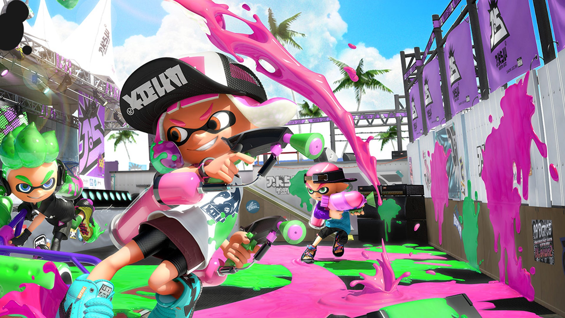splatoon 2 gets a major update which adds 100 pieces of new gear and