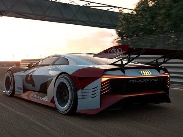 Audis Insane Electric Concept Car Is Set To Debut At Formula E Rome - Audi e car