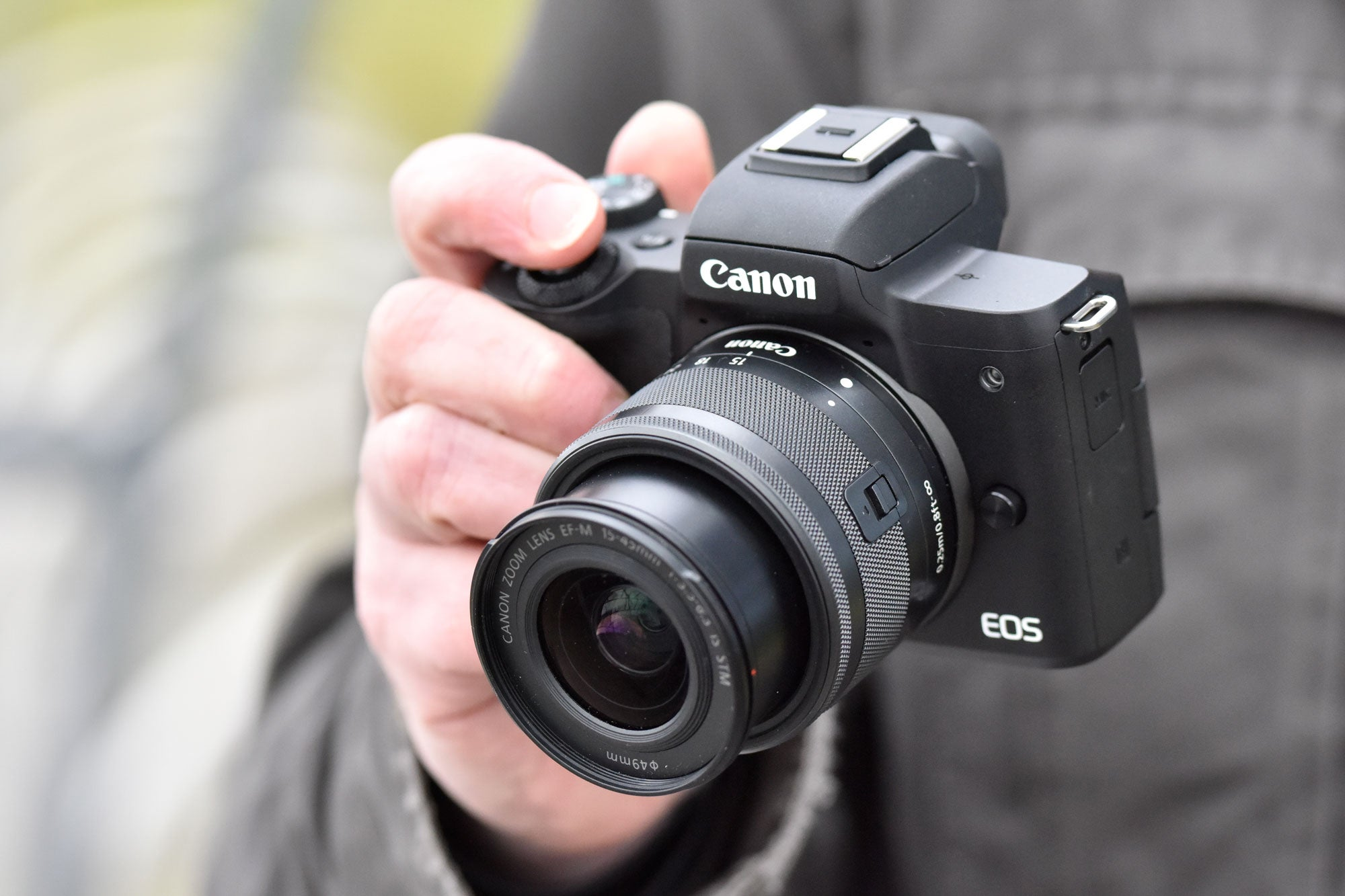 Best Cameras: Canon EOS M50