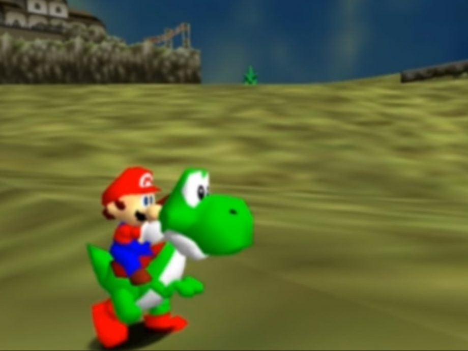 Super Mario 64: Ocarina of Time is the mash-up to rule them all