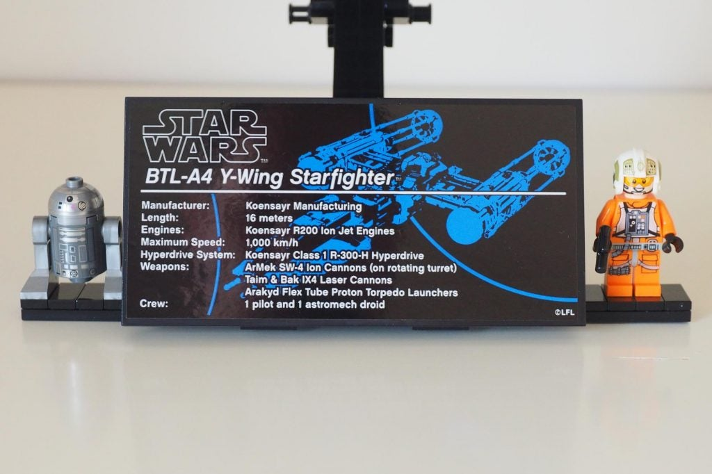 Lego Star Wars Ultimate Collector Series Y Wing Review