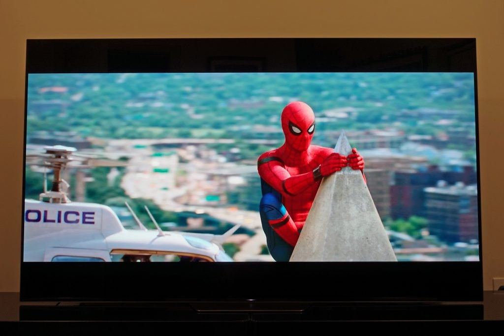 Android tv 8 sony af8   Sony AF8 TV review: ignore the
