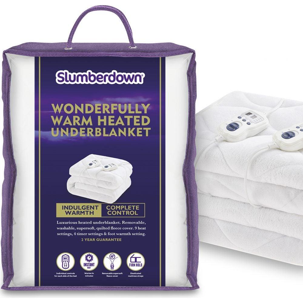 Best Electric Blanket Slumberdown