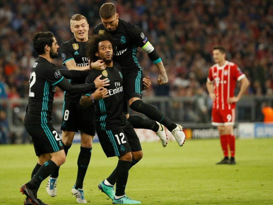 Real Madrid Vs Fc Bayern Live Stream