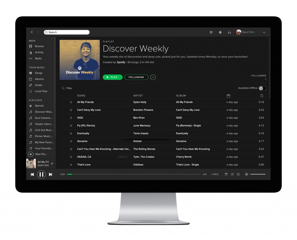 spotify playlist ohne wlan