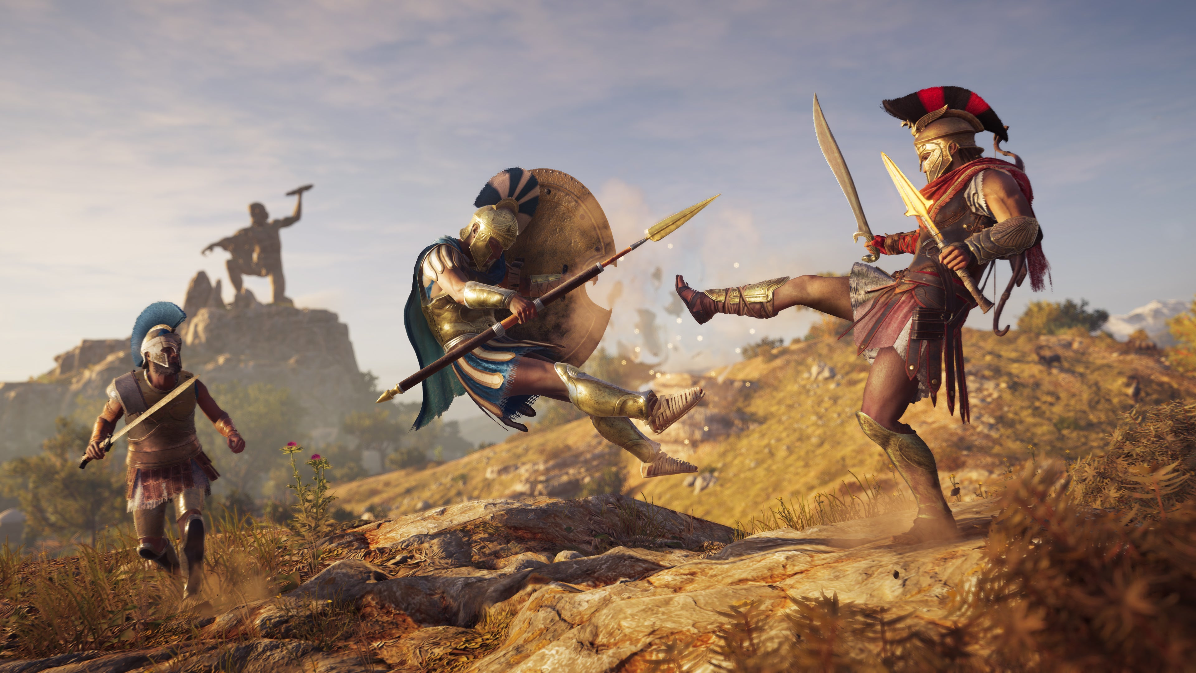 Assassin S Creed Odyssey Gameplay Preview We Play With