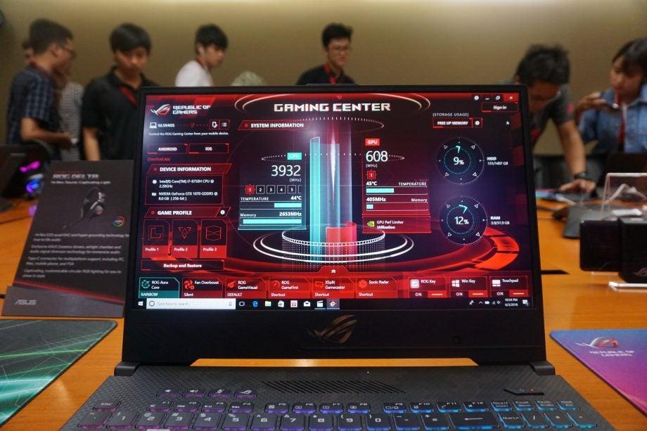 Rog Gaming Center Not Showing Cpu Temp
