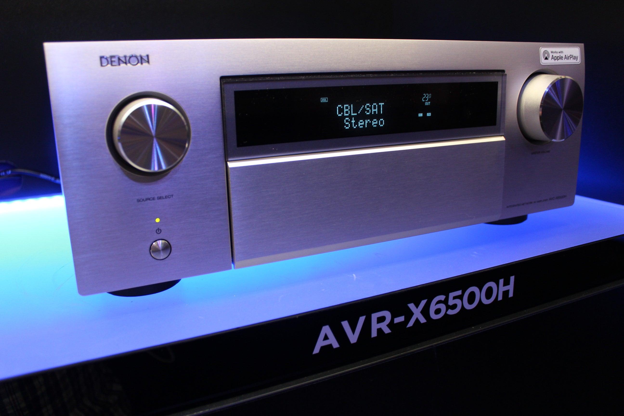 Denon's 2018 AV receivers add Amazon Alexa and Apple AirPlay