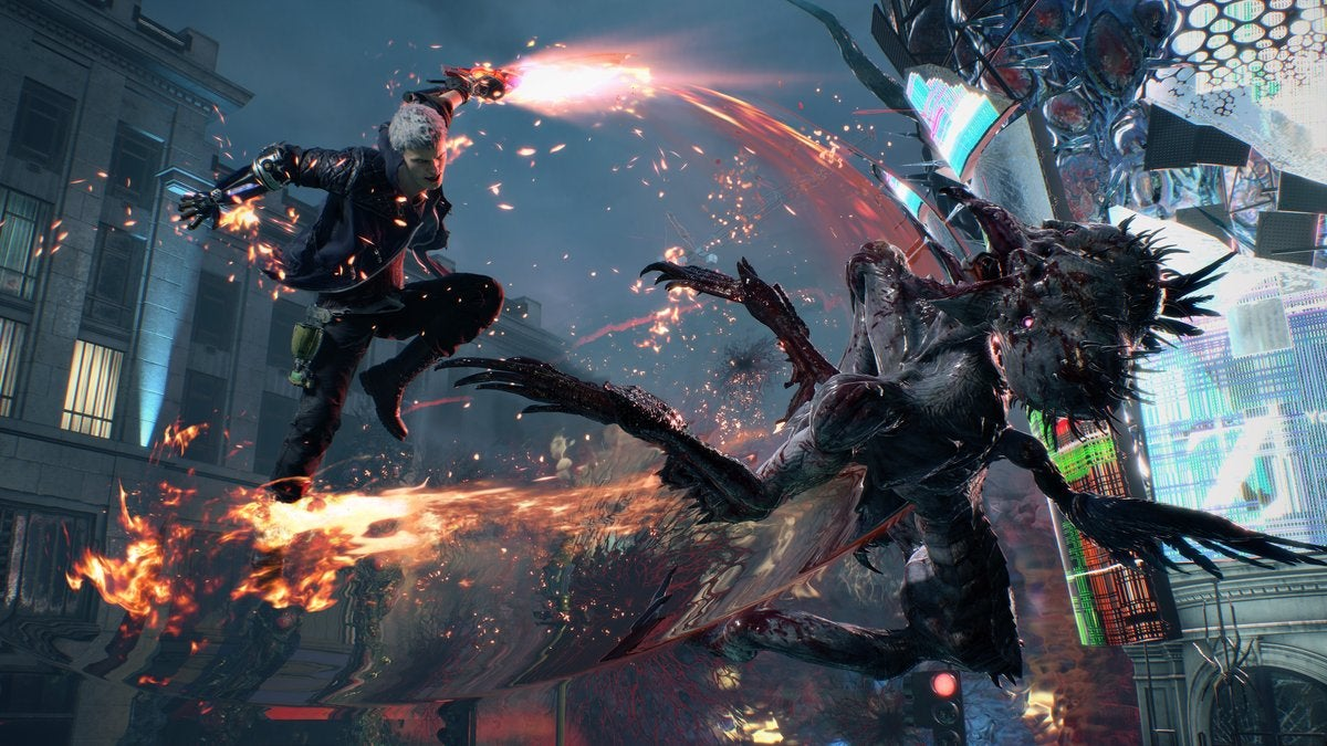 Image result for devil may cry 5 review