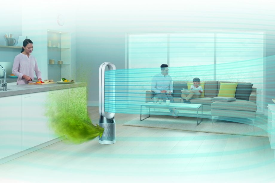 Dyson Pure Cool Tower Review The Ultimate Way To Stay Cool This Summer Review Trusted Reviews