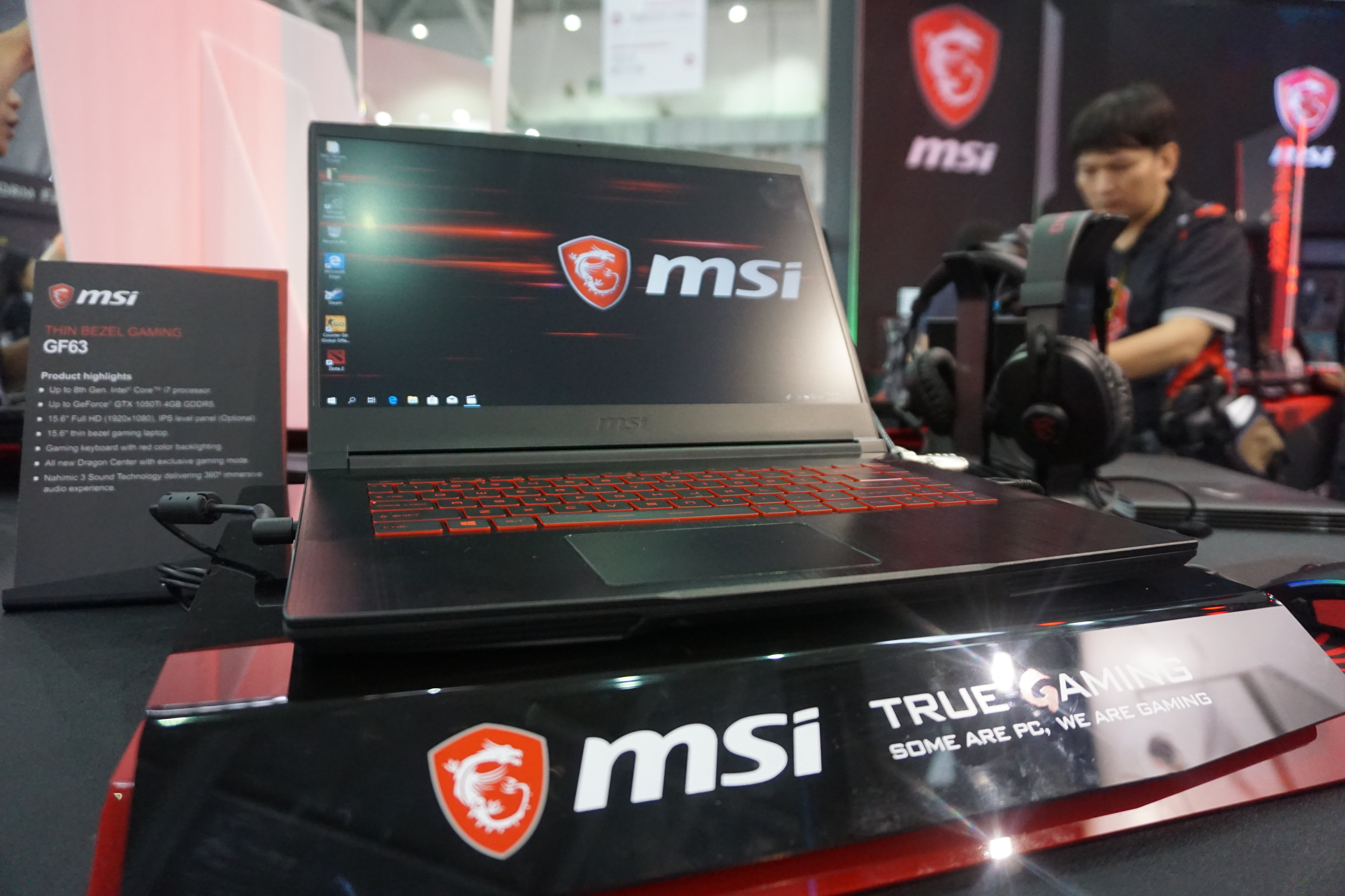 MSI GF63 first look: The best £1000 gaming notebook from