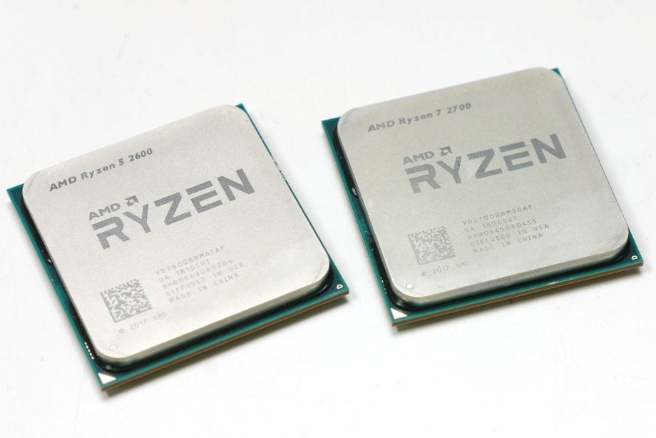 AMD Ryzen 7 2700 & Ryzen 5 2600 Review | Trusted Reviews
