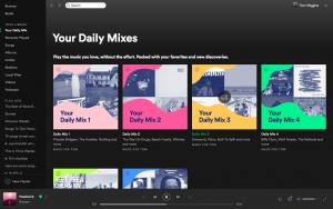 Spotify - Daily Mix