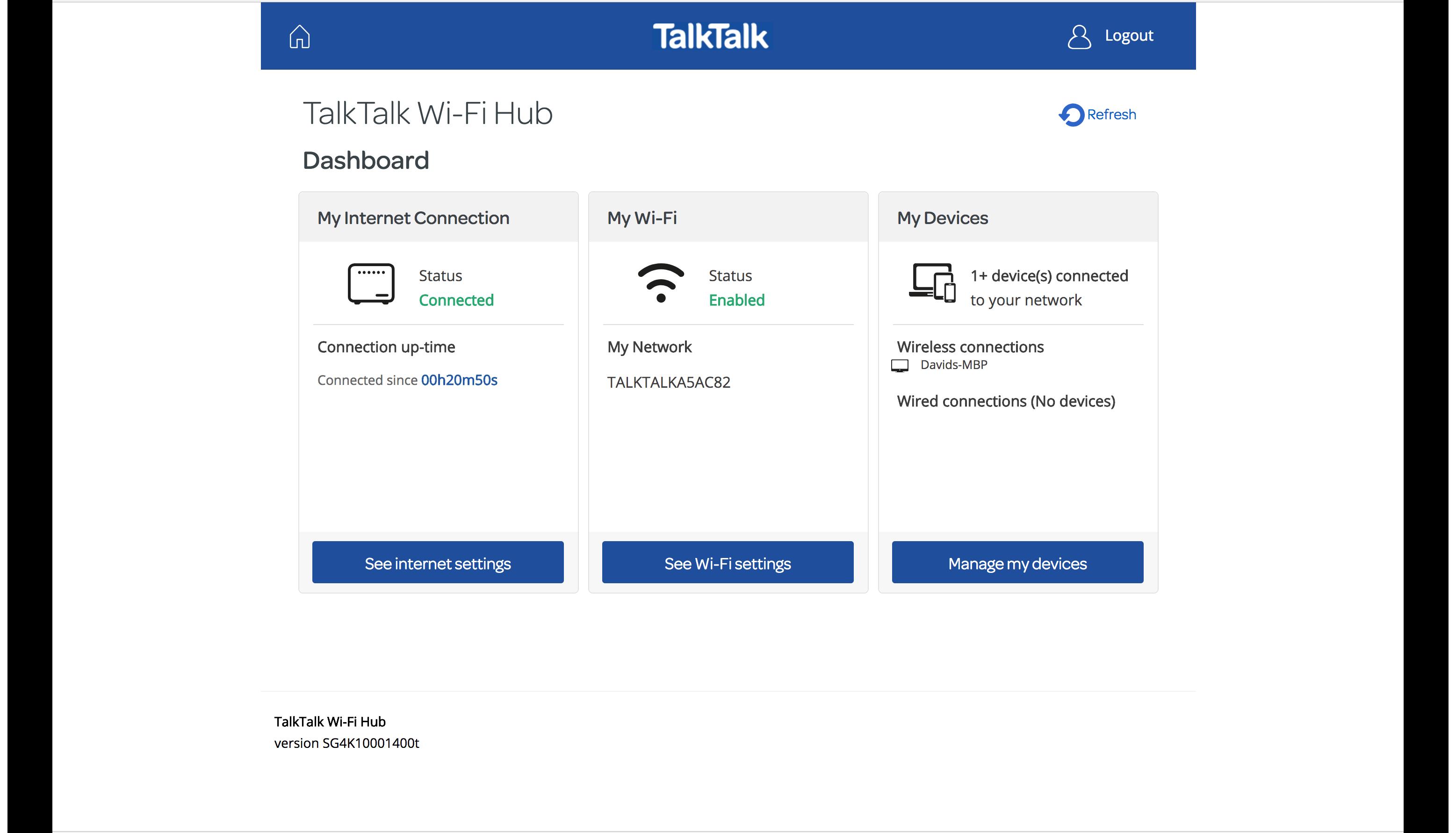 Talktalk Wi Fi Hub Review Trusted Reviews