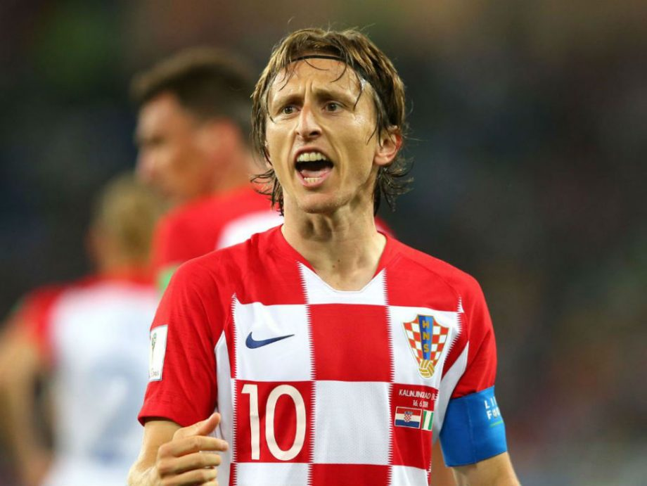 luka modric russia vs croatia world cup 2018