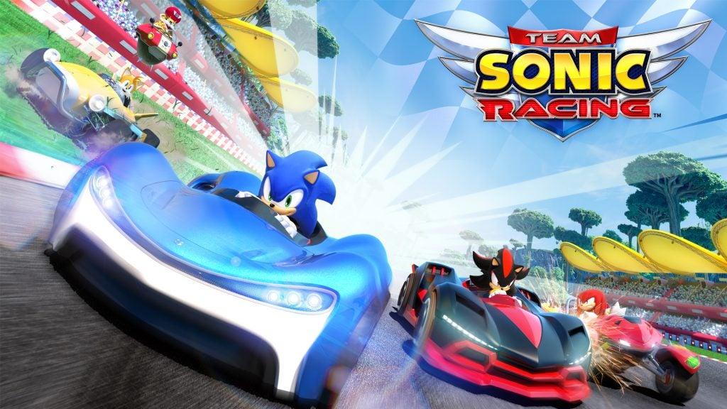 Resultado de imagen de Sonic Team Racing