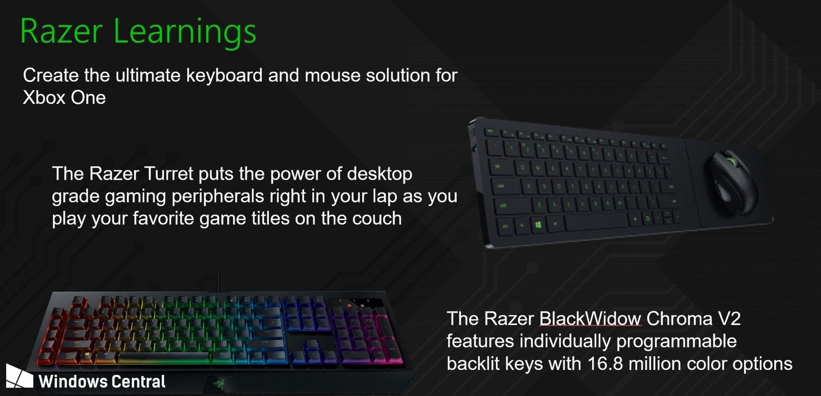 Microsoft and Razer are working on Xbox keyboard and mouse support