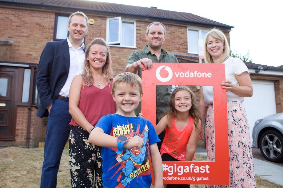 Inside the first UK home with Vodafone Gigabit broadband