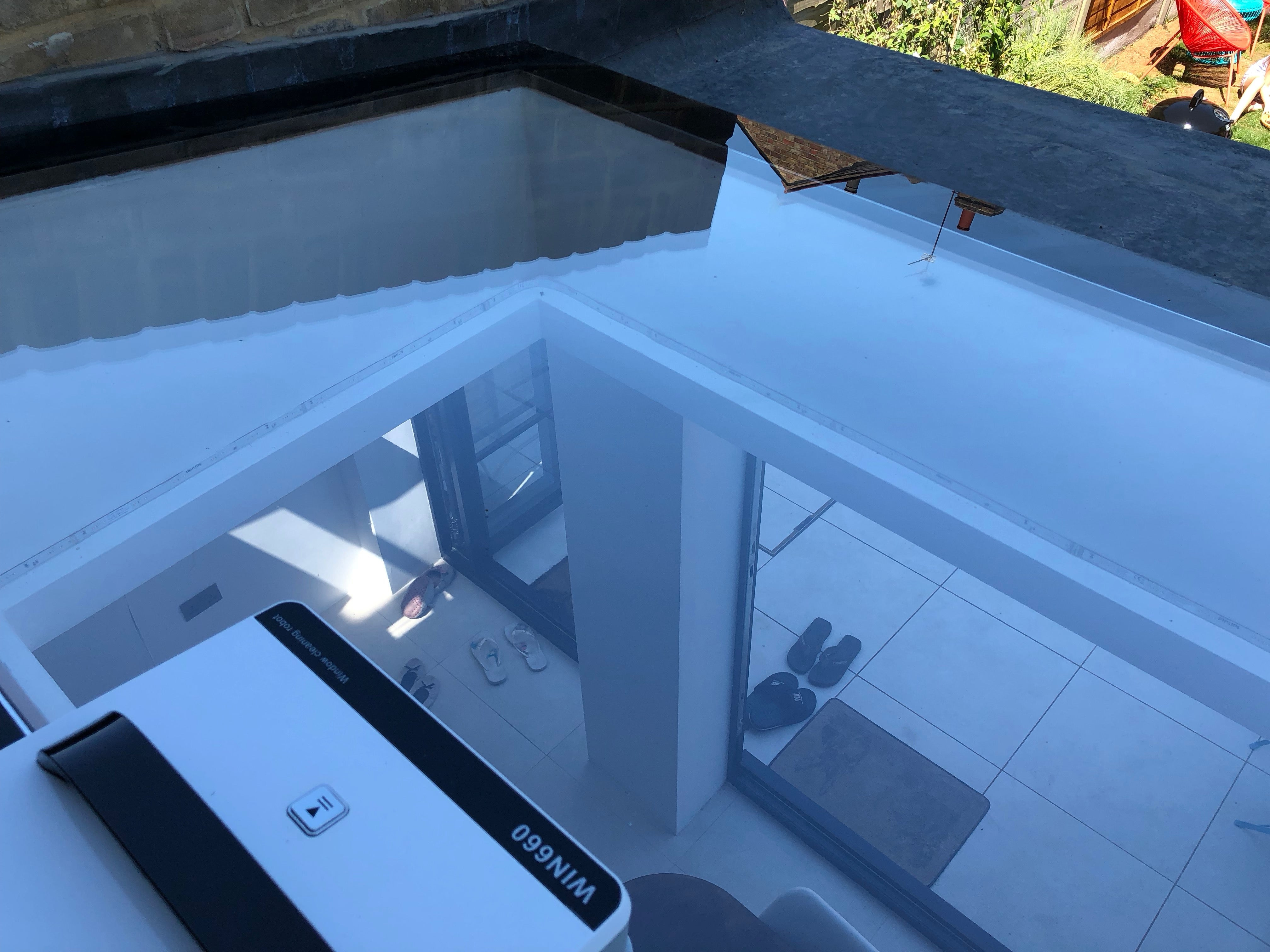 Alfawise WIN660 Robotic Window Cleaner shiny results