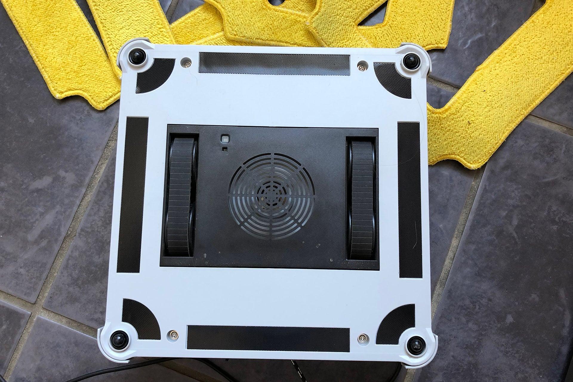 Alfawise WIN660 Robotic Window Cleaner underneath
