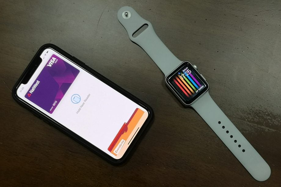 Apple Pay iPhone X and Apple Watch Series 3