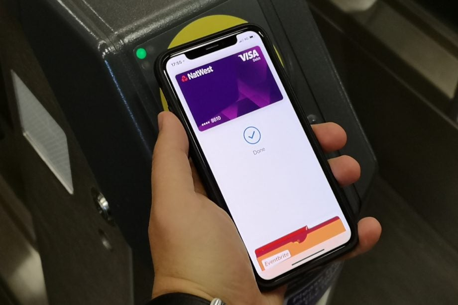 Apple Pay iPhone X contactless payment