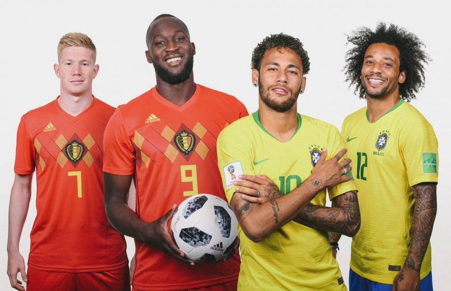 Brazil Belgium FIFA World Cup how to watch quarter final football live