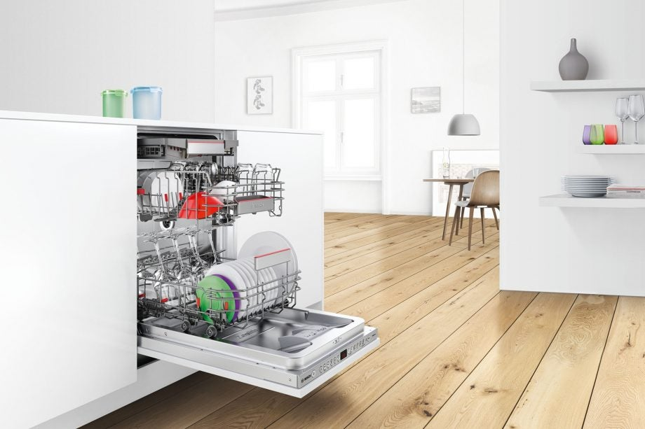 Bosch dishwasher with Amazon Dash Replenishment services built in